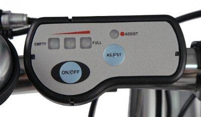 Elcykel indicator