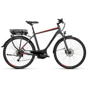 Cube Touring Hybrid grey red herr