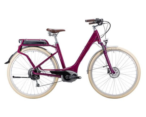 Cube Elly Ride Hybrid grape and red