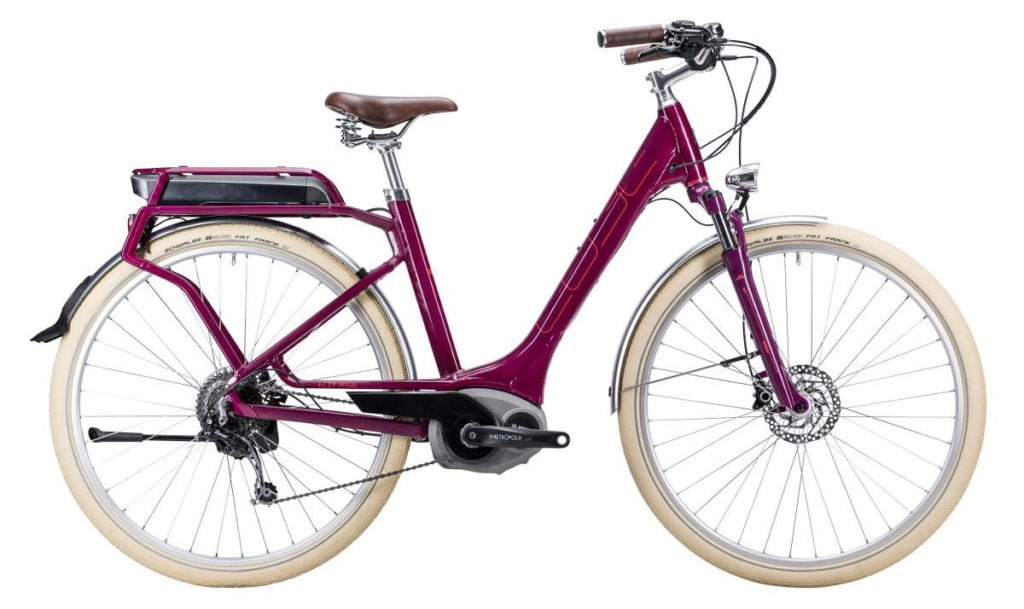 Elly Ride Hybrid grape and red blogg