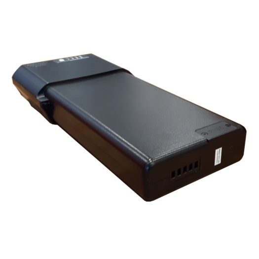 E-motion batteri baksida