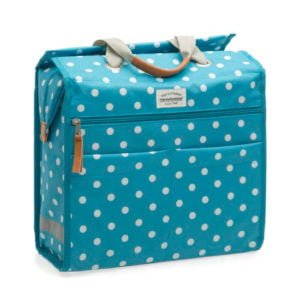 lilly polka pannier blue