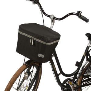 Cykelkorgskydd svart fram cykel