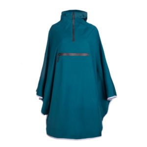 Weathergoods Imbris Regnponcho Teal