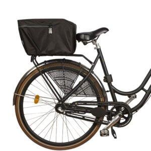 Weathergoods Regnskydd Cykelkorg bak svart