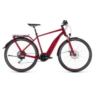 Cube Touring Hybrid Exc 500 red