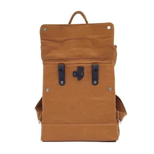 Weathergoods City Backpack Caramel Hooks