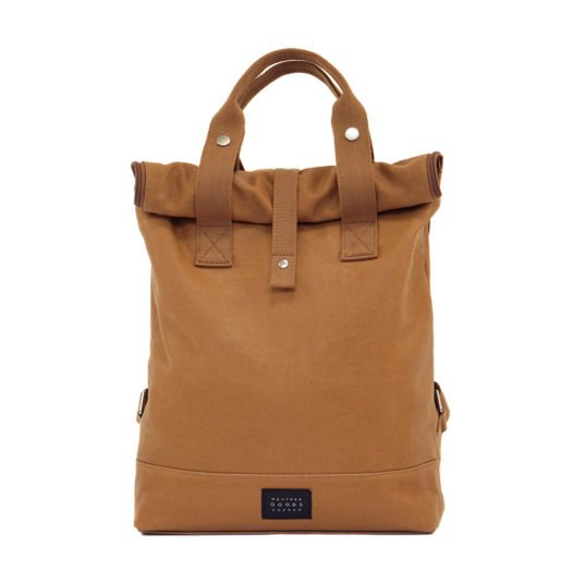 Weathergoods City Backpack Caramel Front