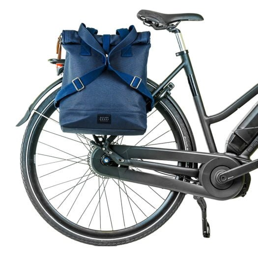 Weathergoods City Backpack Navy Bike