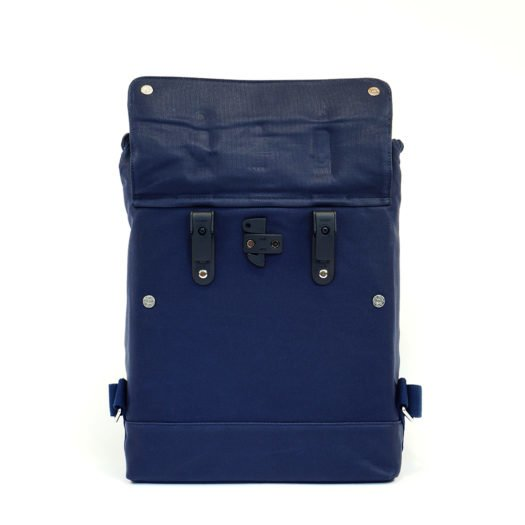 Weathergoods City Backpack Navy Hooks