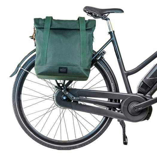 Weathergoods City Tote Green Bike