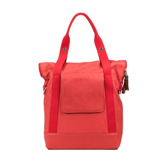 Weathergoods City Tote Coral Back