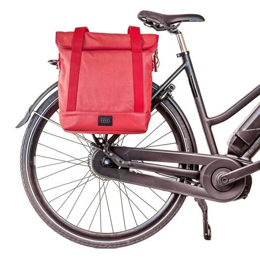 Weathergoods City Tote Coral Bike