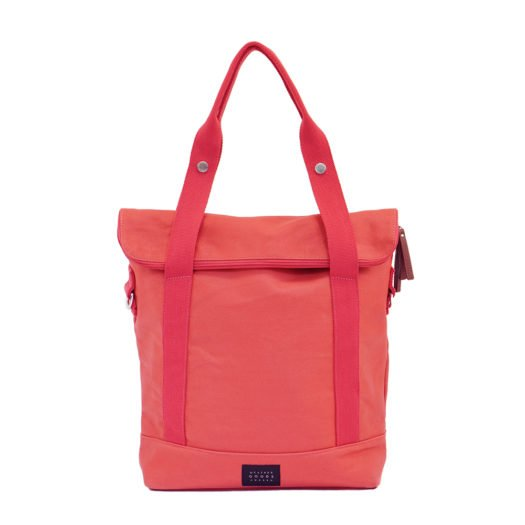 Weathergoods City Tote Coral Front
