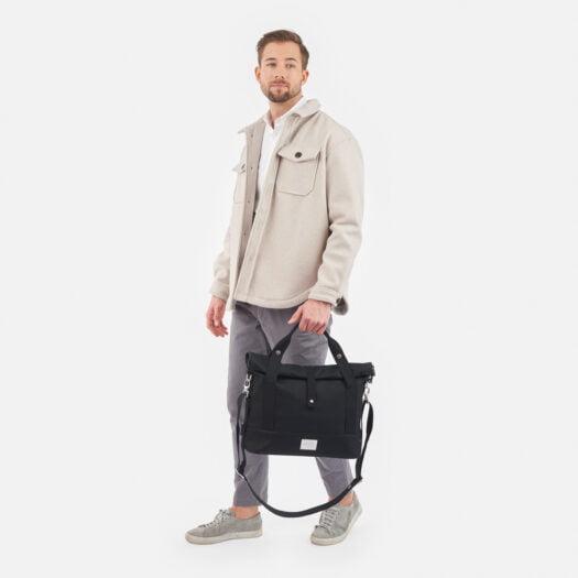 weathergoods-bicycle-bag-city-bike-satchel-black-man-holding